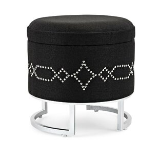 Best Deals Caines Fabric Storage Ottoman By House of Hampton