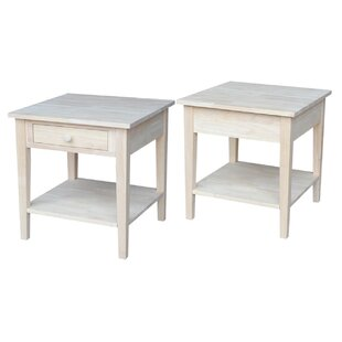 Compare Greenbrier End Table By Rosecliff Heights