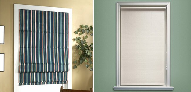 Roman Shadesalso Called Blinds Shades Are Considered A More Tailored And Sleek Option Easy To Install Operate The Wide Pleats Fold Flat