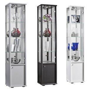 Rachel Standard Curio Cabinet With Lighting By Ebern Designs