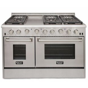 Professional 48 Free-standing Gas Range with Griddle by Kucht