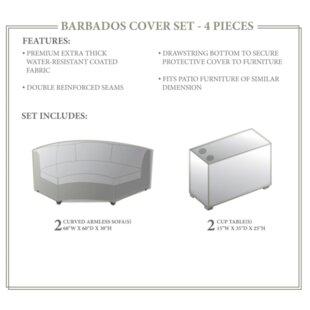 TK Classics Barbados Winter 4 Piece Cover Set
