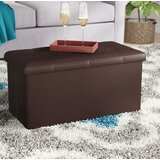 Francine Tufted Rectangle Storage Ottoman by Charlton Home®
