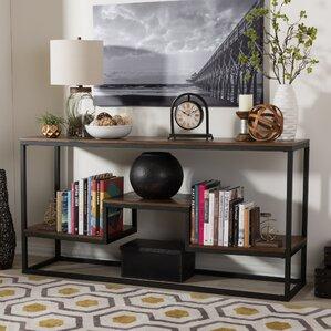 Rustic Console & Sofa Tables You\'ll Love | Wayfair