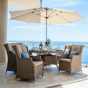 Radegunda 6 Seater Dining Set With Cushions Image