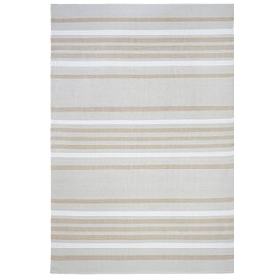 Hunnicutt Stripe Blue Indoor/Outdoor Area Rug