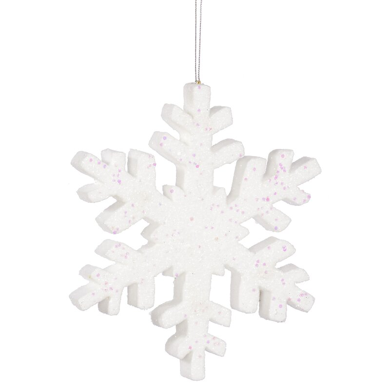 The Holiday Aisle Outdoor Snowflake Holiday Shaped Ornament Reviews Wayfair