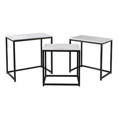 Brayden Studio Isberga 3 Piece Nesting Tables