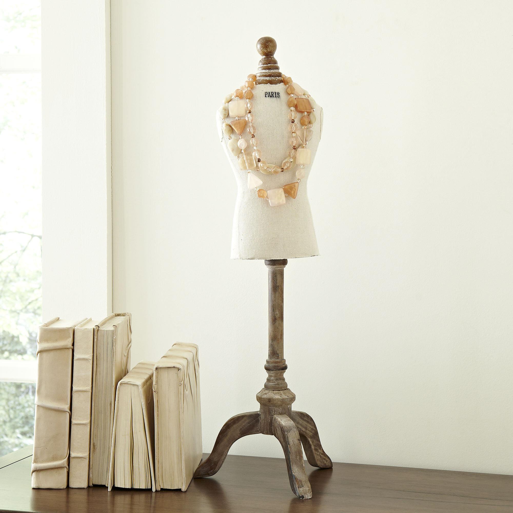 Birch Lane™ Vintage Dress Form Jewelry Holder & Reviews | Birch Lane