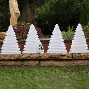 Xmas Tree LED Mood Lamp (Set Of 4) By The Seasonal Aisle