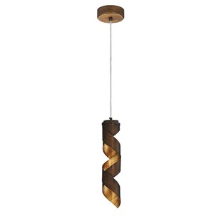 Brayden Studio Bertrand 1-Light Novelty P..