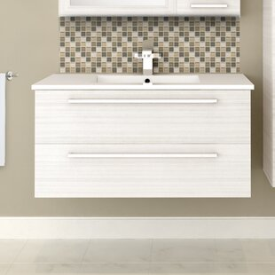 Price Check Silhouette 36 Wall-Mounted Single Bathroom Vanity Set By Cutler Kitchen & Bath