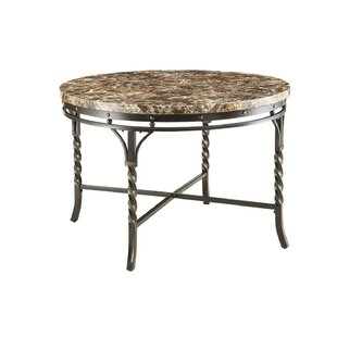Sparks Metal Frame Dining Table by Fleur De Lis Living Coupont