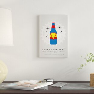 'Super Soda Pops V' Graphic Art Print on Canvas By East Urban Home