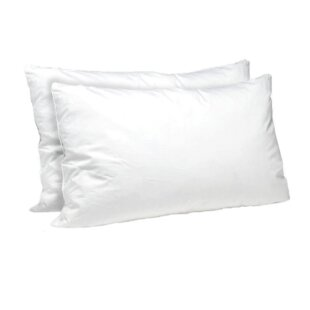 Goldie Stuffer Plush Polyester/Polyfill Pillow (Set of 2)