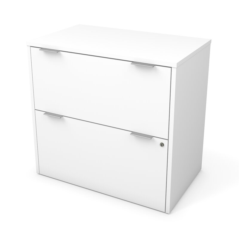 Prattsburgh 2 Drawer Lateral Filing Cabinet