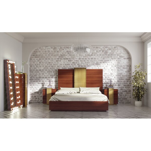 Hispania Home London Bedor13 Bedroom Set 4 Pieces Wayfair