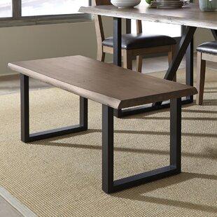 Standard Furniture Sierra Wood/Metal Bench