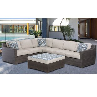Bloomsbury Market Mcentee 5 Piece Sectional Set with Cushions