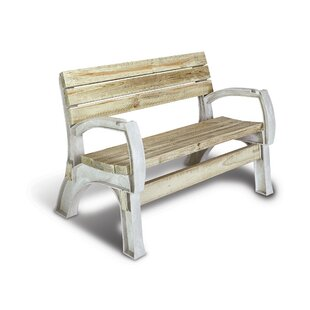 Mya Resin Garden Bench by Freeport Park
