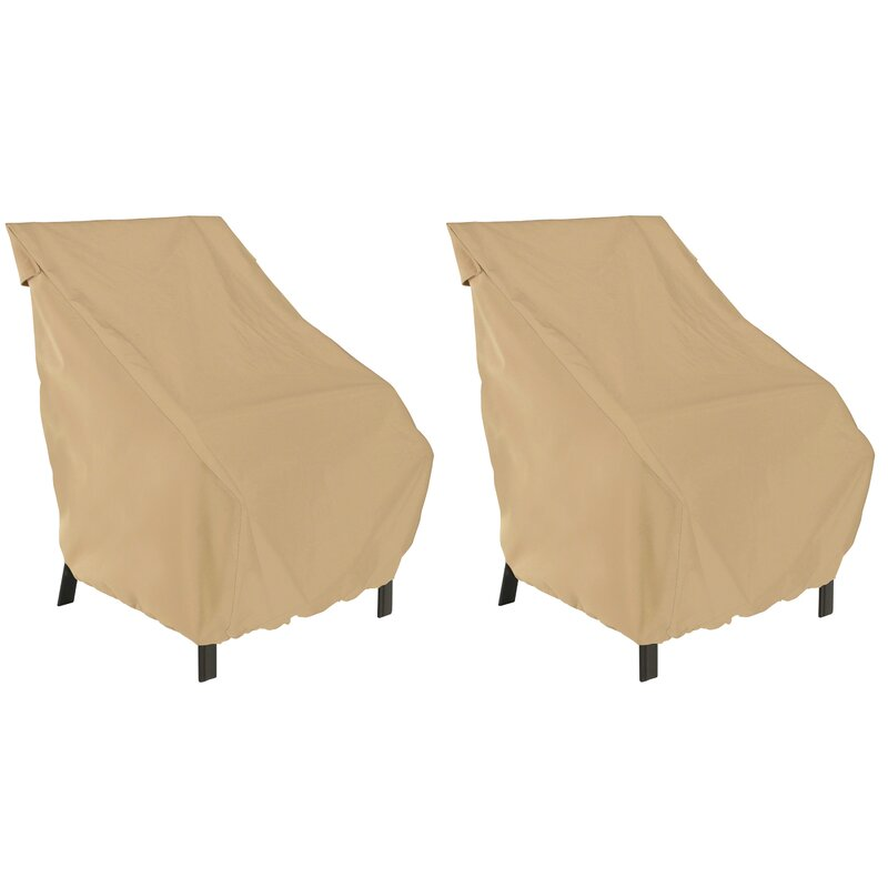 High Back Breathable Patio Chair Covers
