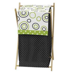 Sweet Jojo Designs Spirodot Laundry Hamper