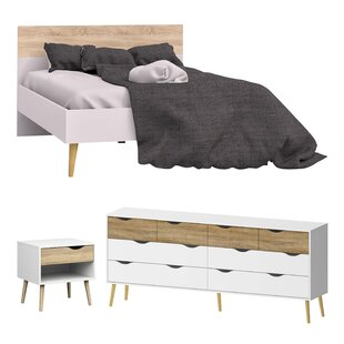 Mateer Queen Panel Configurable Bedroom Set