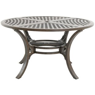 Rivera Metal Dining Table by Royal Garden