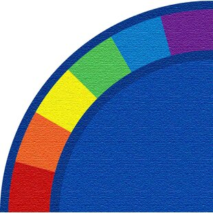 Top Reviews Blue Corner Area Rug ByKid Carpet