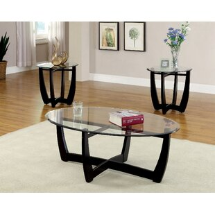 Latitude Run Mattie 3 Piece Coffee Table Set