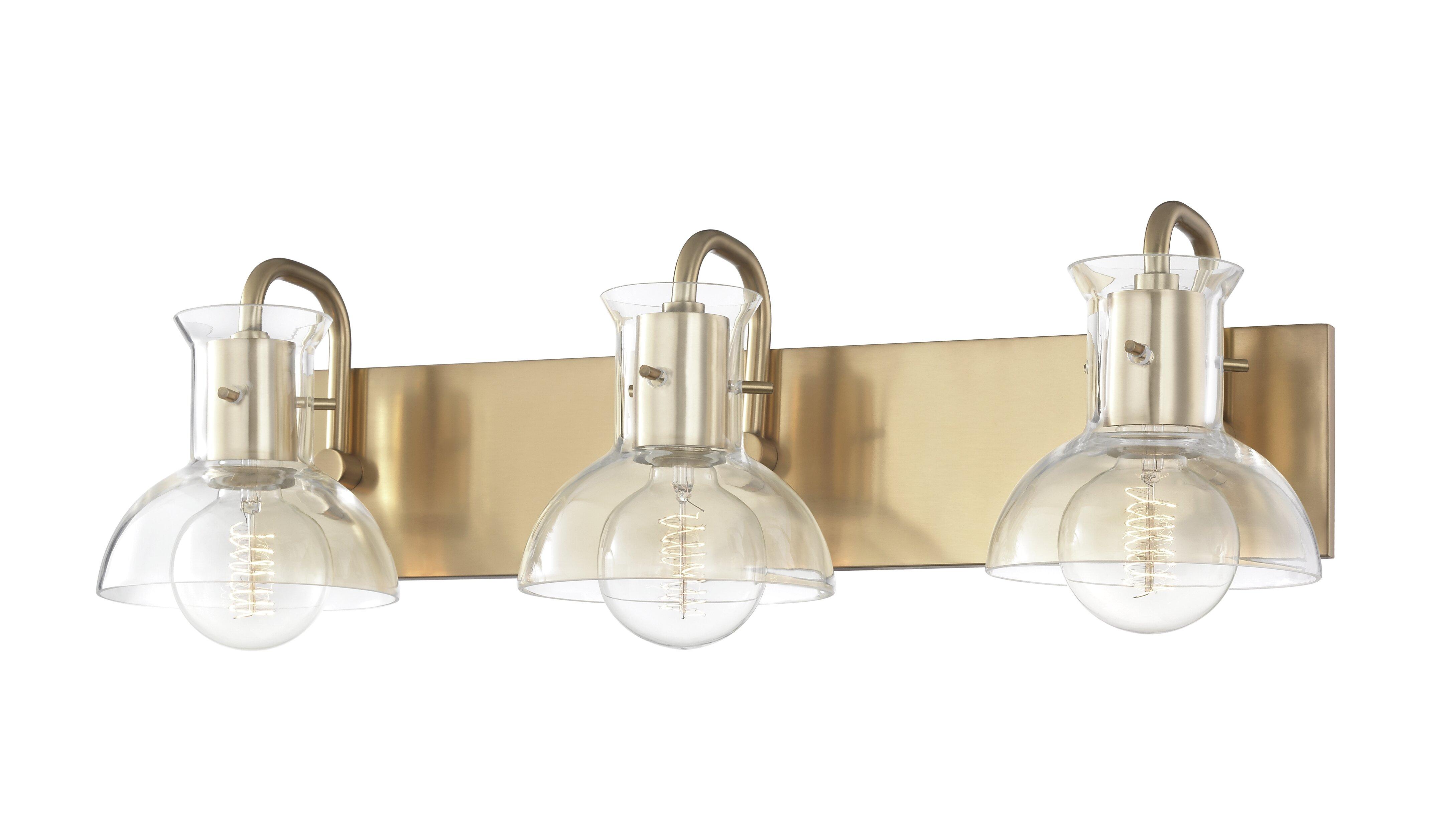 Altamirano 3 Light Dimmable Vanity Light Reviews Allmodern