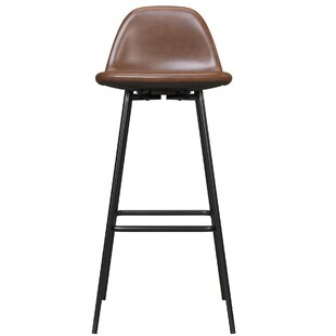 Bowen Upholstered 39 Bar Stool by Hashtag Home