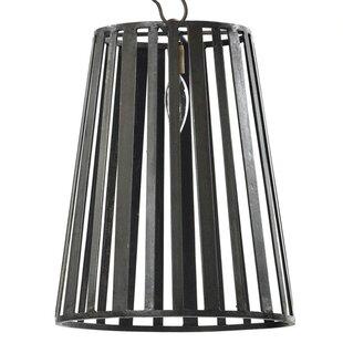 Williston Forge Moore 1-Light Cone Pendant