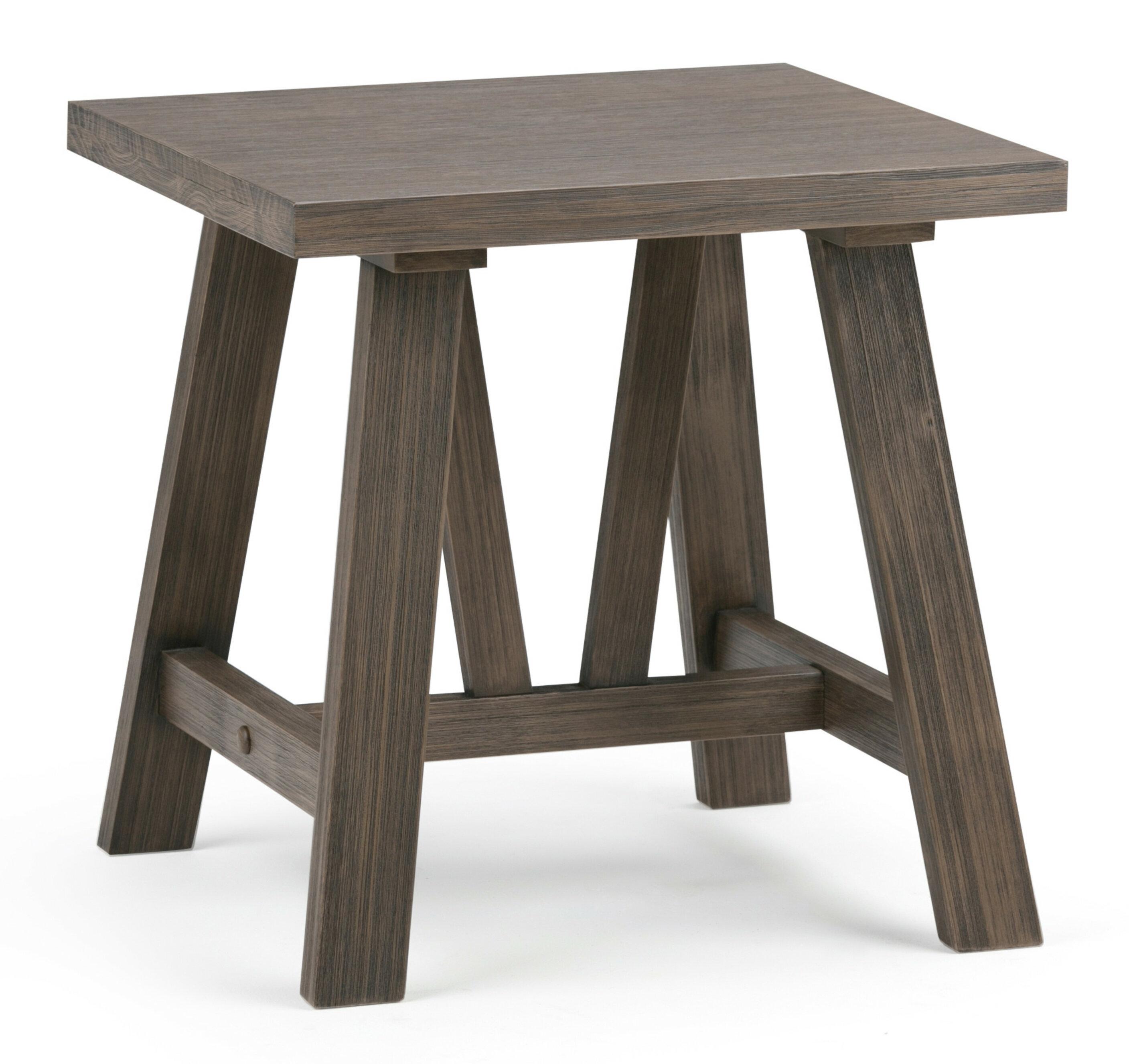Simpli Home Dylan End Table   Wayfair