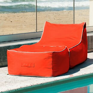 Sunbrella Bean Bag Lounger Set by Hip Chik Chairs