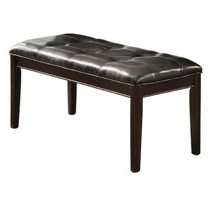 Gayton Faux Leather Bench
