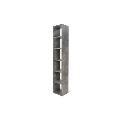 Kitsco Pombal 88 H Shelving Unit Starter Size: 88 H x 16 W x 13 D, Finish: Concrete