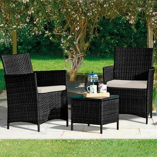 Avaline 2 Seater Rattan Conversation Set By Sol 72 Outdoor