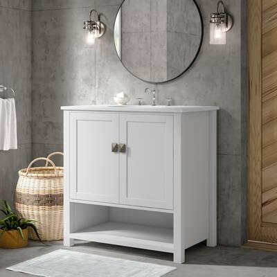 Latitude Run Iarla 36 Single Bathroom Vanity Set Reviews Wayfair