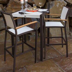 Bayline™ 3 Piece Bar Height Dining Set