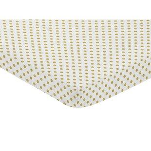 Reviews Amelia Polka Dot Fitted Mini Crib Sheet BySweet Jojo Designs