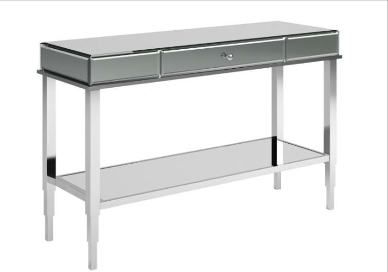 mirror console table. Calisto Mirrored Console Table Mirror -