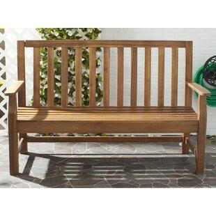 Indaka Acacia Wood Garden Bench