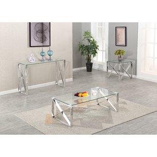 Orren Ellis Javon 3 Piece Coffee Table Set