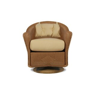 Reflections Swivel Rocking Chair with Cushions  by Lloyd Flanders