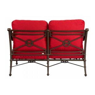 Delphi Loveseat with Cushions by Woodard
