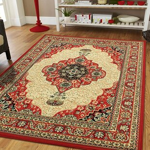Kulas Red Indoor/Outdoor Area Rug
