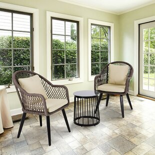 Weingartner 3 Piece Seating Group with Cushions