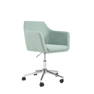 Mcwhorter Antle Upholstered Office Chair Upholstery Color: Laguna by Beachcrest Home