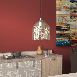 Brayden Studio Hoskin 1-Light Bell Pendant